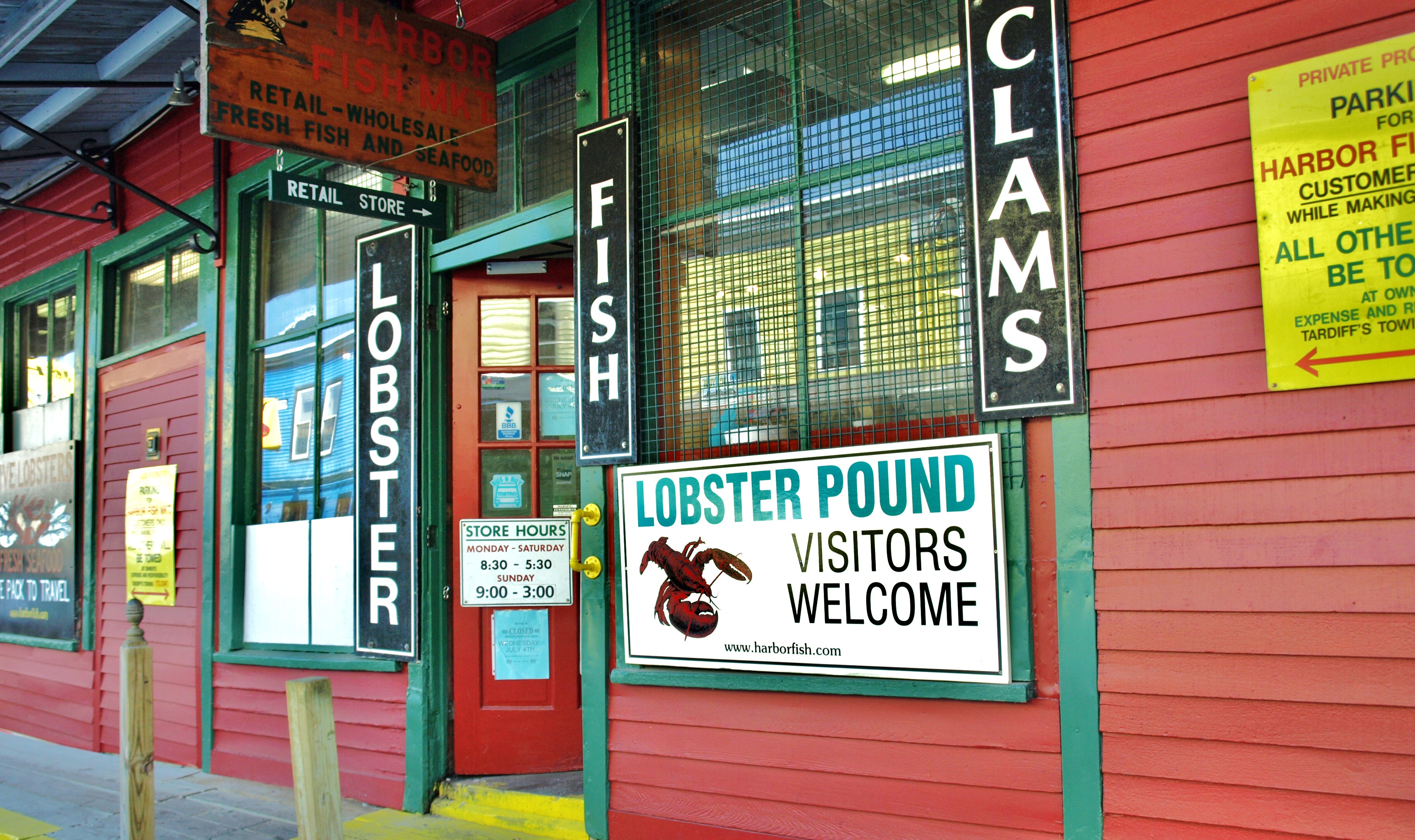 Eat local maine you need food for Portland fish market